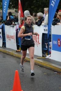Leigh Chmilar Running Half Marathon