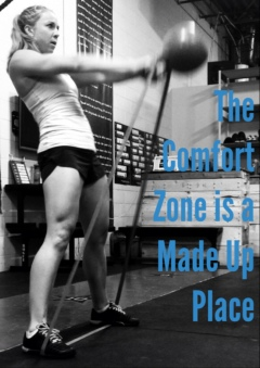 The Comfort Zone is a Made Up Place, and it's time to leave.