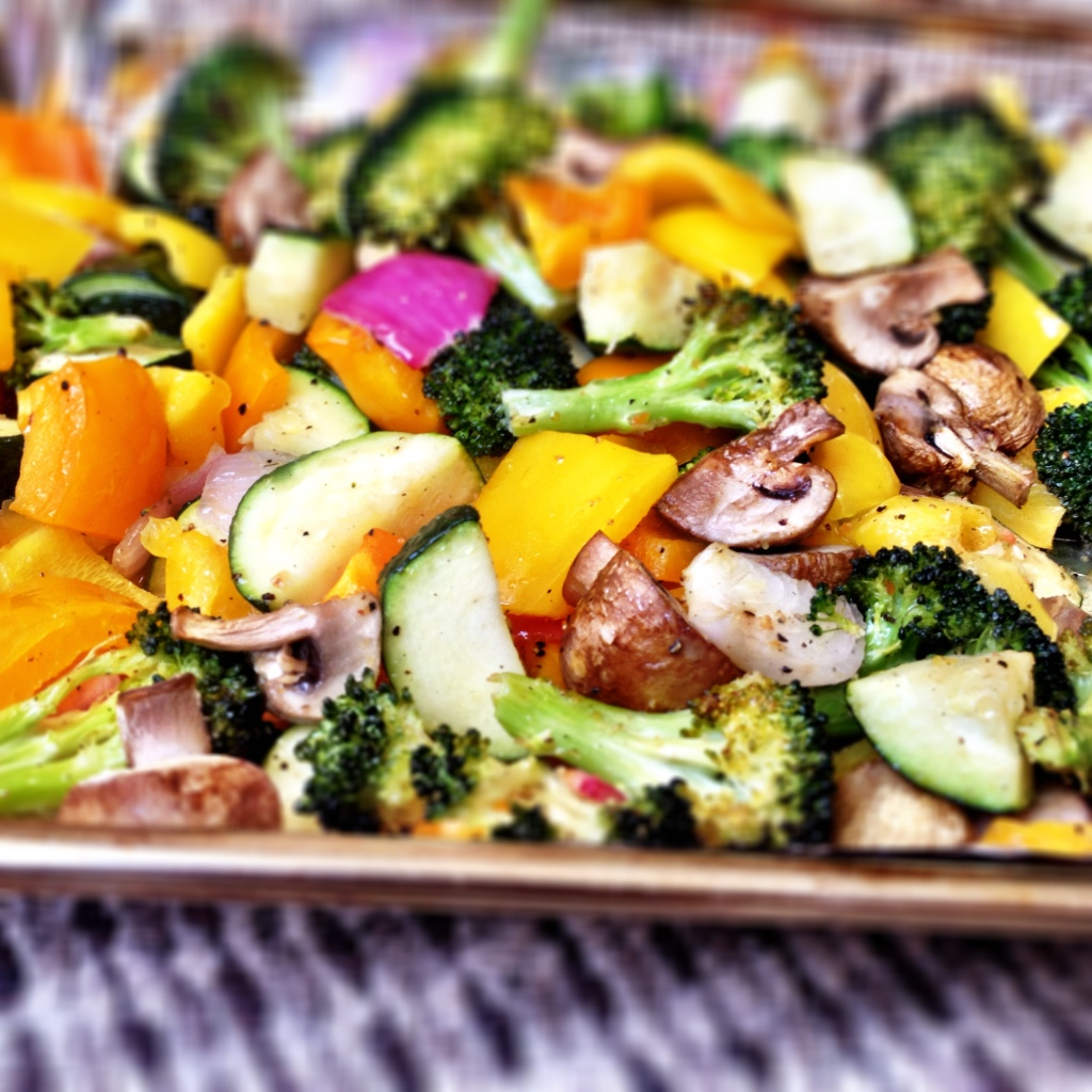 Leigh Easy Roasted Vegetables